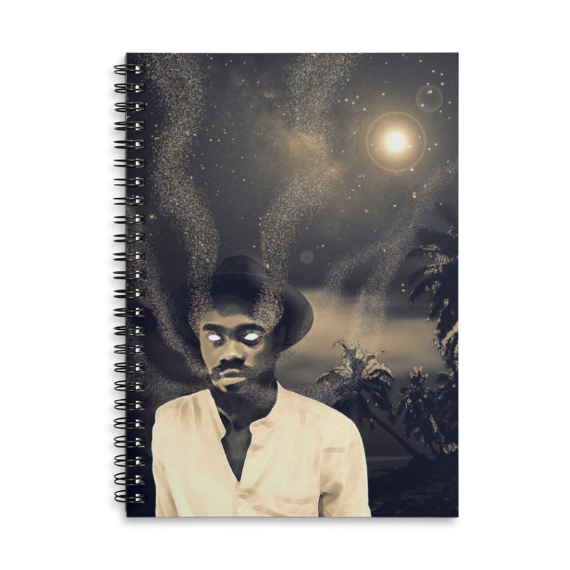 The Visitor Accessories Lined Spiral Notebook by ashleysladeart's Artist Shop