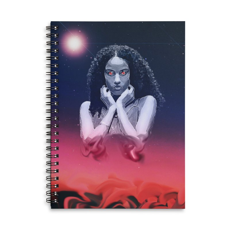 The Overseer Accessories Lined Spiral Notebook by ashleysladeart's Artist Shop