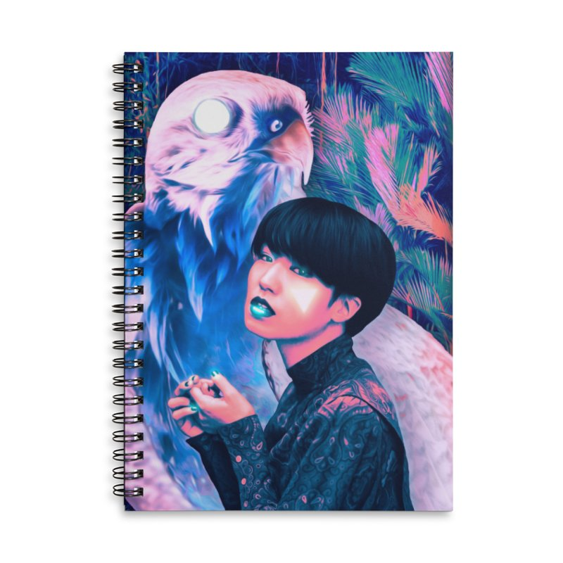 The Diviner Accessories Lined Spiral Notebook by ashleysladeart's Artist Shop