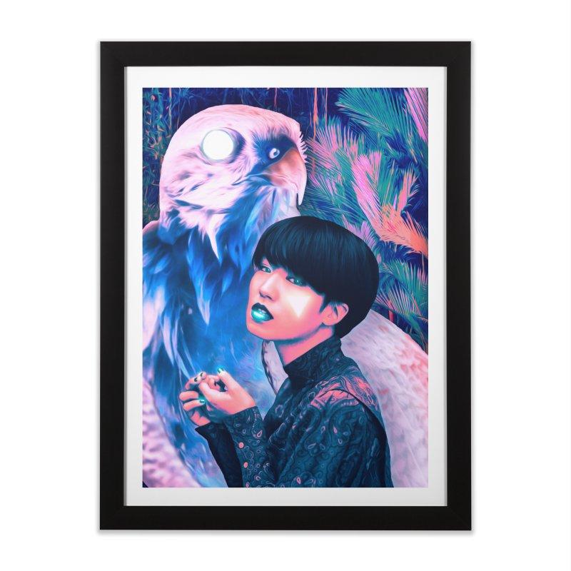 The Diviner Home Framed Fine Art Print by ashleysladeart's Artist Shop