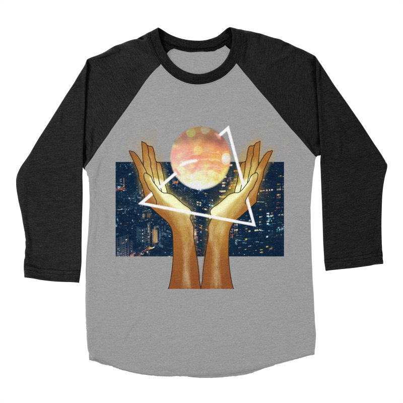 Wonder Women's Baseball Triblend Longsleeve T-Shirt by ashleysladeart's Artist Shop