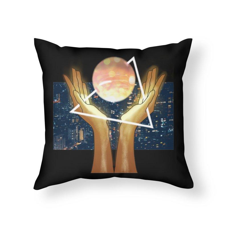 Wonder Home Throw Pillow by ashleysladeart's Artist Shop