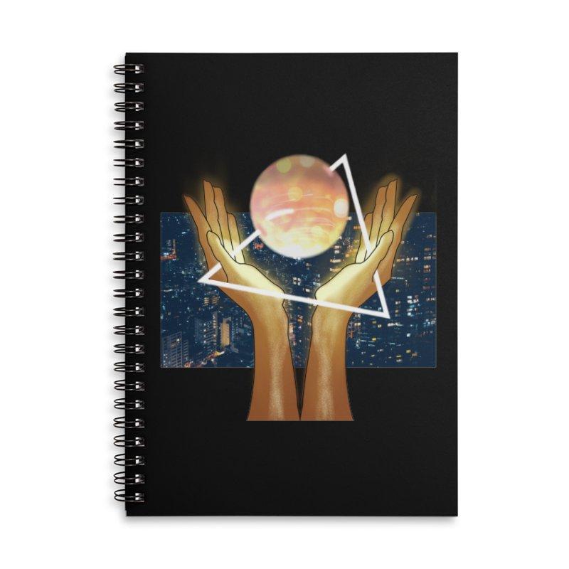 Wonder Accessories Lined Spiral Notebook by ashleysladeart's Artist Shop