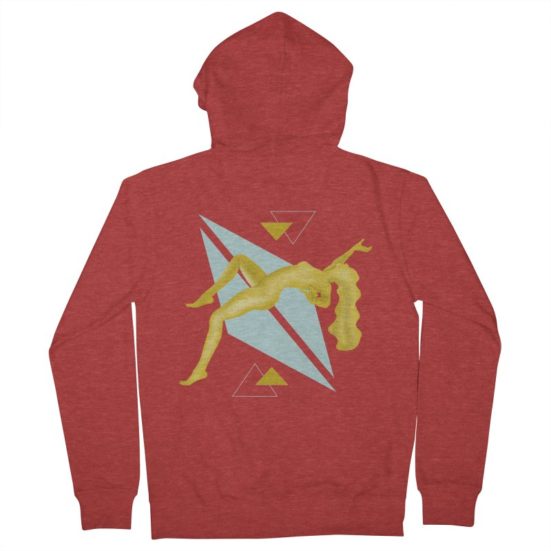 UFO Men's French Terry Zip-Up Hoody by ashleysladeart's Artist Shop
