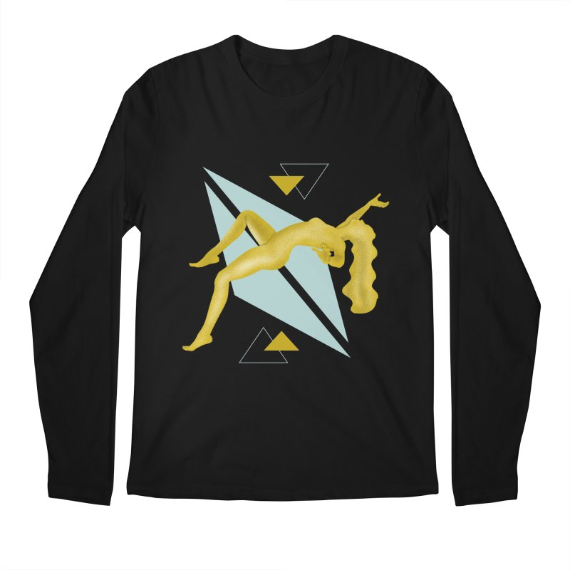 UFO Men's Regular Longsleeve T-Shirt by ashleysladeart's Artist Shop