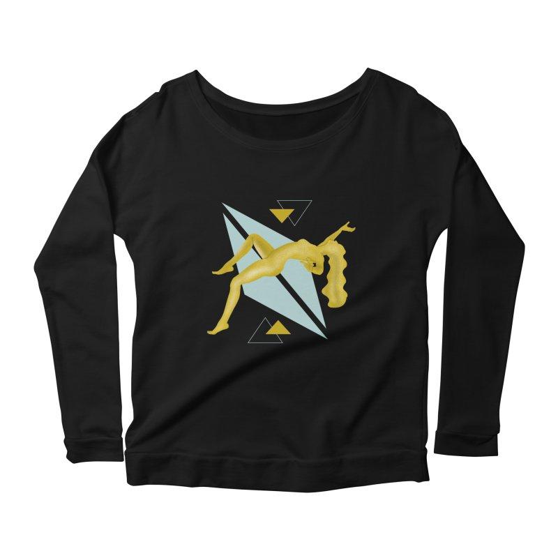 UFO Women's Scoop Neck Longsleeve T-Shirt by ashleysladeart's Artist Shop