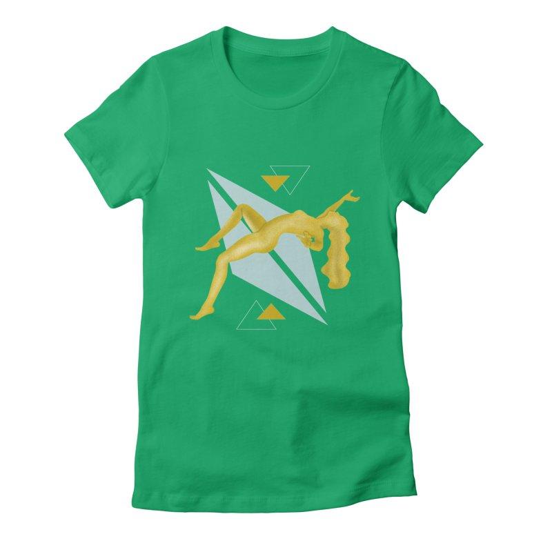 UFO Women's Fitted T-Shirt by ashleysladeart's Artist Shop