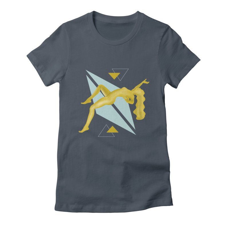 UFO Women's Fitted T-Shirt by ashleysladeart's Artist Shop