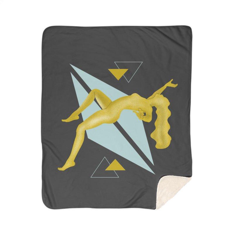 UFO Home Sherpa Blanket Blanket by ashleysladeart's Artist Shop
