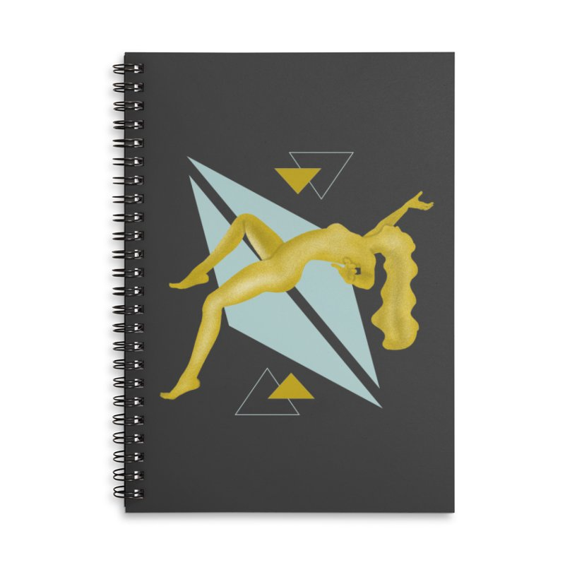 UFO Accessories Lined Spiral Notebook by ashleysladeart's Artist Shop
