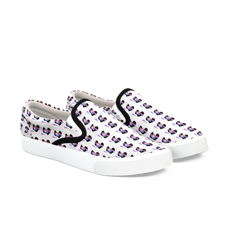 Shock! Women's Slip-On Shoes by ashleysladeart's Artist Shop