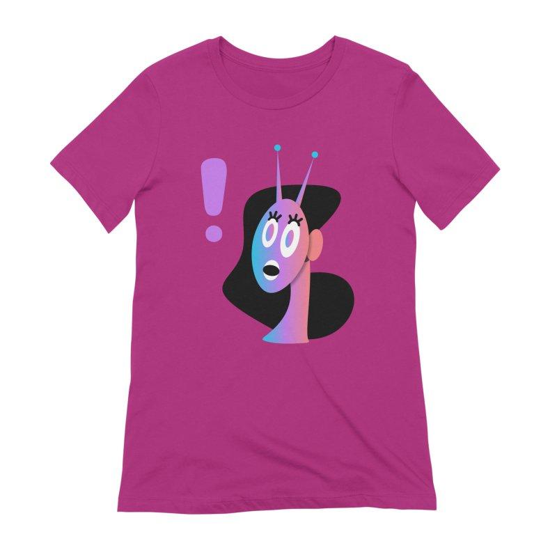 Shock! Women's Extra Soft T-Shirt by ashleysladeart's Artist Shop