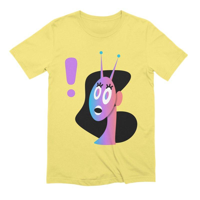 Shock! Men's Extra Soft T-Shirt by ashleysladeart's Artist Shop