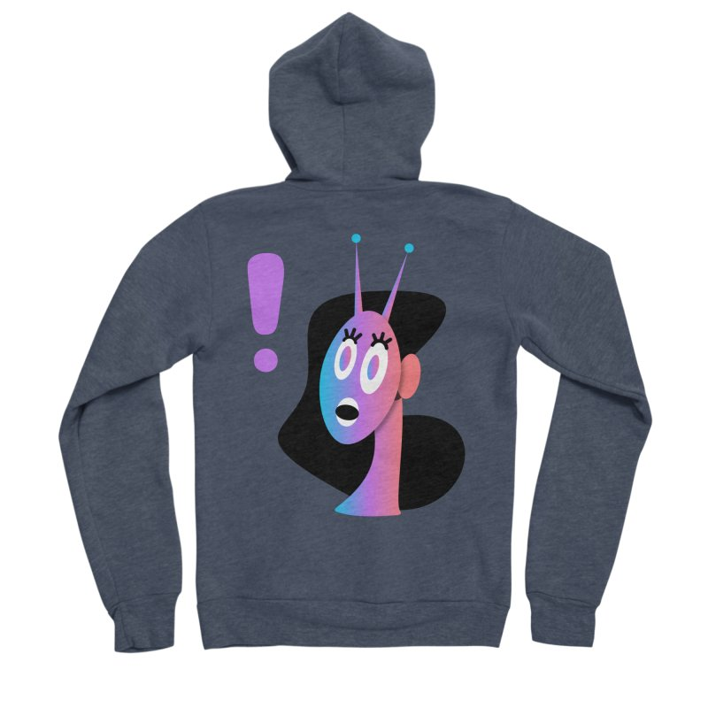 Shock! Men's Sponge Fleece Zip-Up Hoody by ashleysladeart's Artist Shop