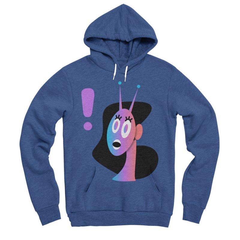 Shock! Men's Sponge Fleece Pullover Hoody by ashleysladeart's Artist Shop