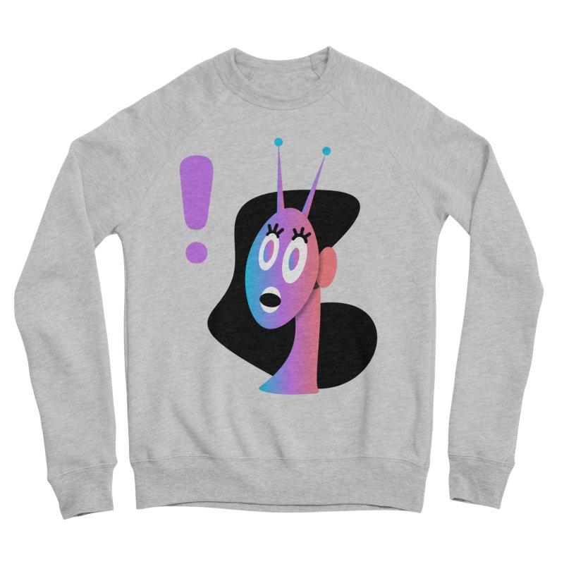 Shock! Men's Sponge Fleece Sweatshirt by ashleysladeart's Artist Shop