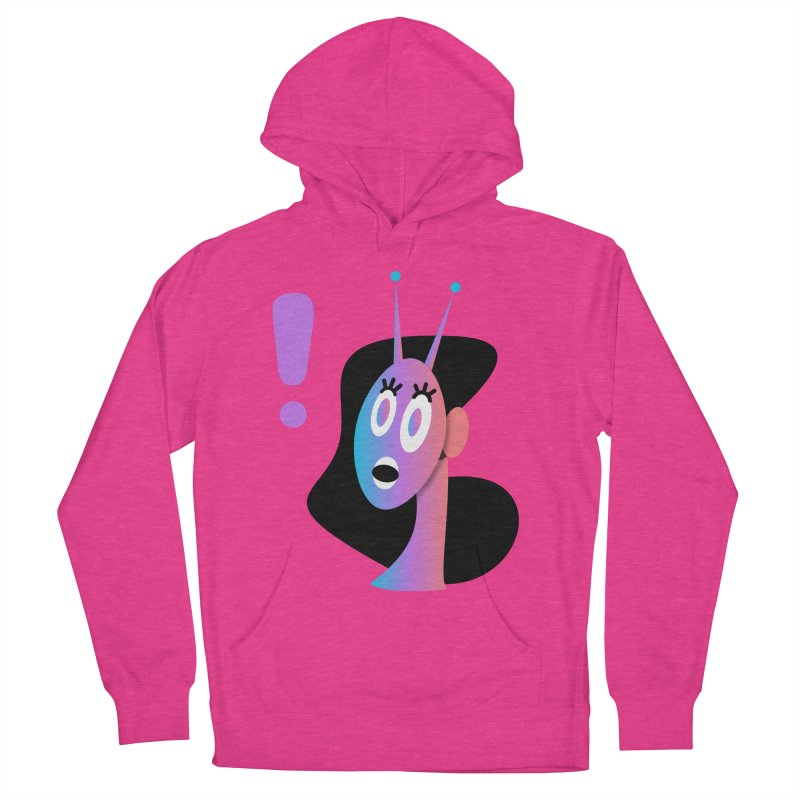 Shock! Men's French Terry Pullover Hoody by ashleysladeart's Artist Shop