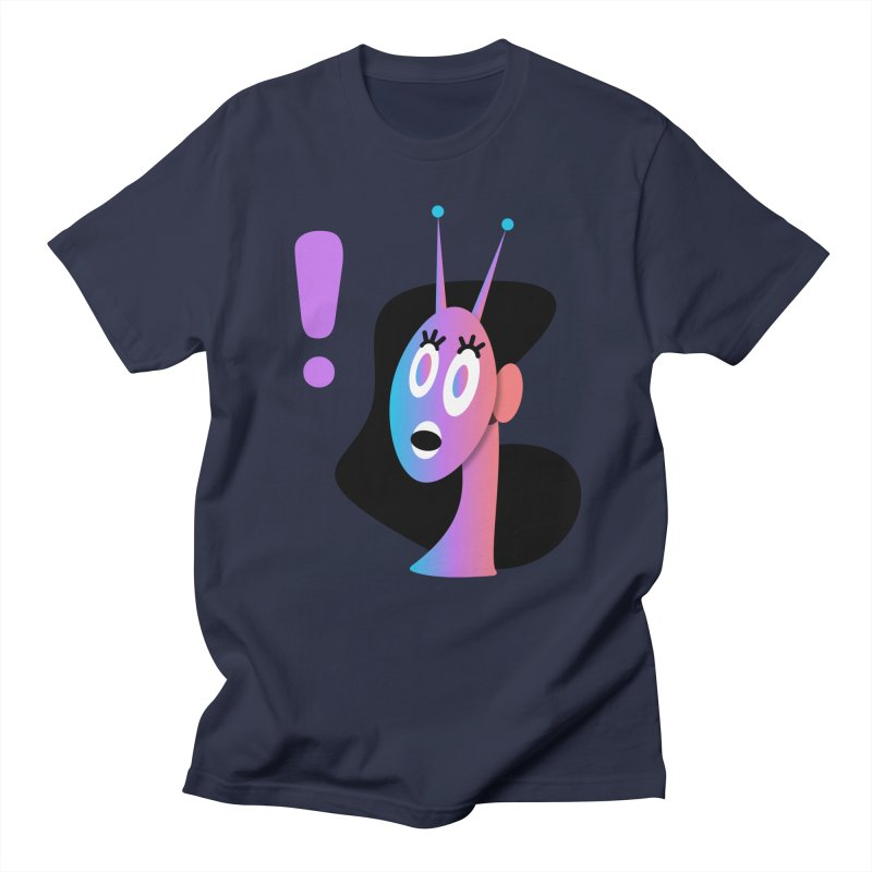 Shock! Women's Regular Unisex T-Shirt by ashleysladeart's Artist Shop