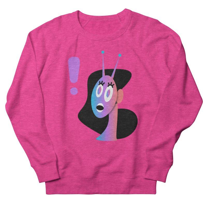 Shock! Women's French Terry Sweatshirt by ashleysladeart's Artist Shop