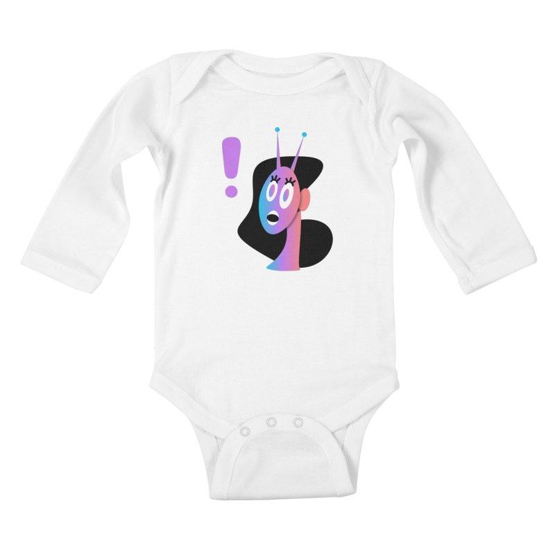 Shock! Kids Baby Longsleeve Bodysuit by ashleysladeart's Artist Shop