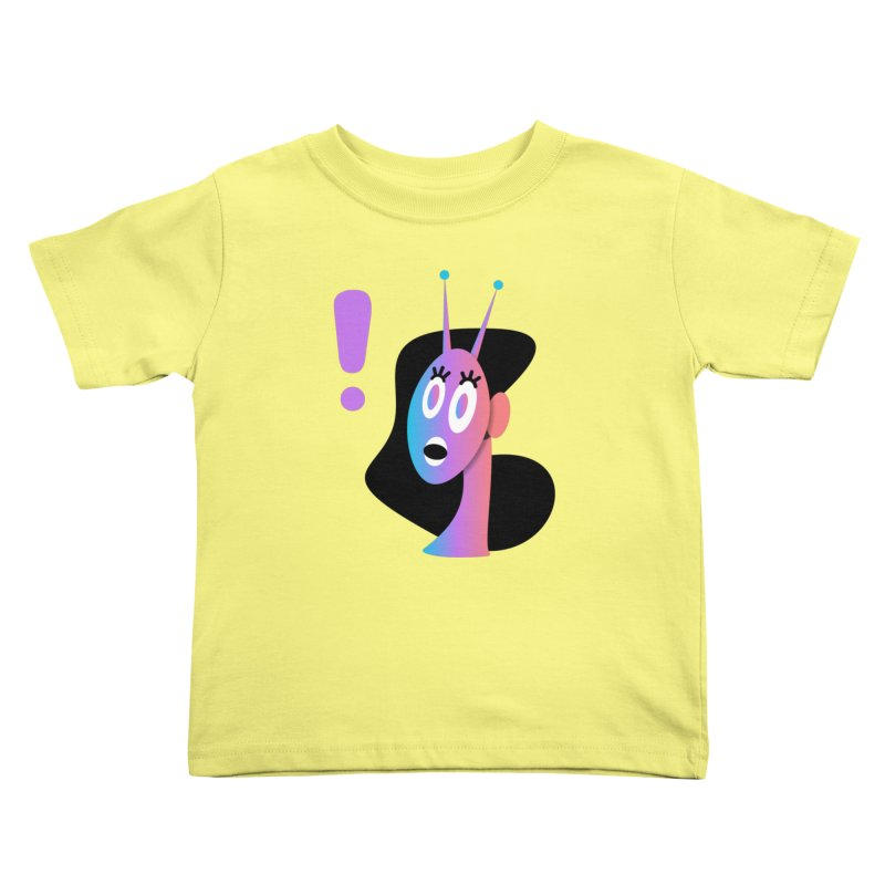 Shock! Kids Toddler T-Shirt by ashleysladeart's Artist Shop