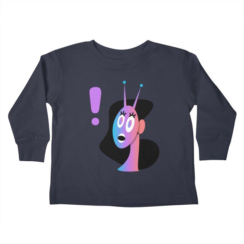Shock! Kids Toddler Longsleeve T-Shirt by ashleysladeart's Artist Shop