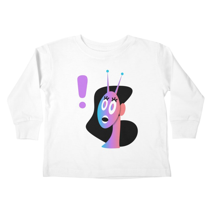 Shock! Kids Toddler Longsleeve T-Shirt by ashleysladeart's Artist Shop
