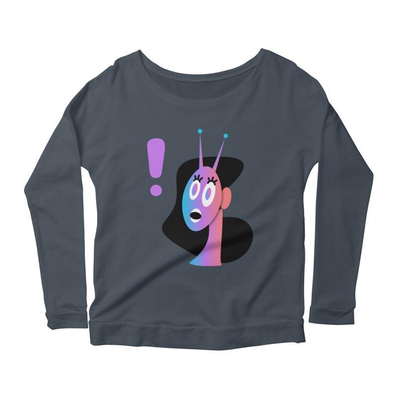 Shock! Women's Scoop Neck Longsleeve T-Shirt by ashleysladeart's Artist Shop