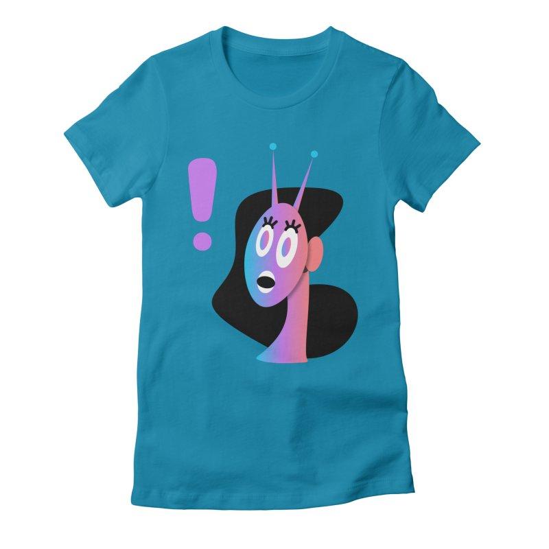 Shock! Women's T-Shirt by ashleysladeart's Artist Shop