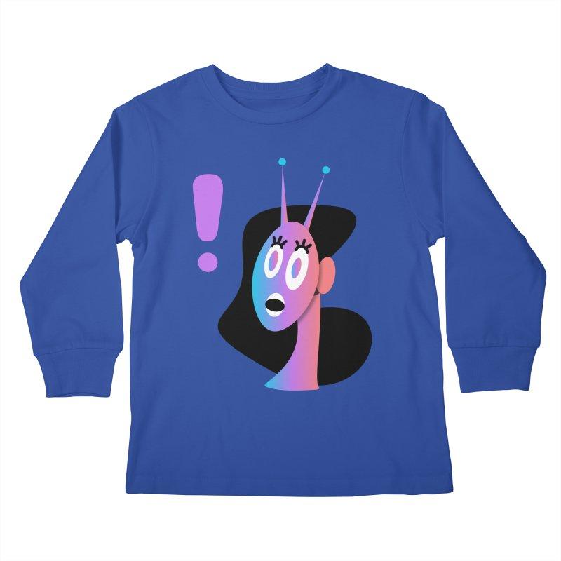 Shock! Kids Longsleeve T-Shirt by ashleysladeart's Artist Shop