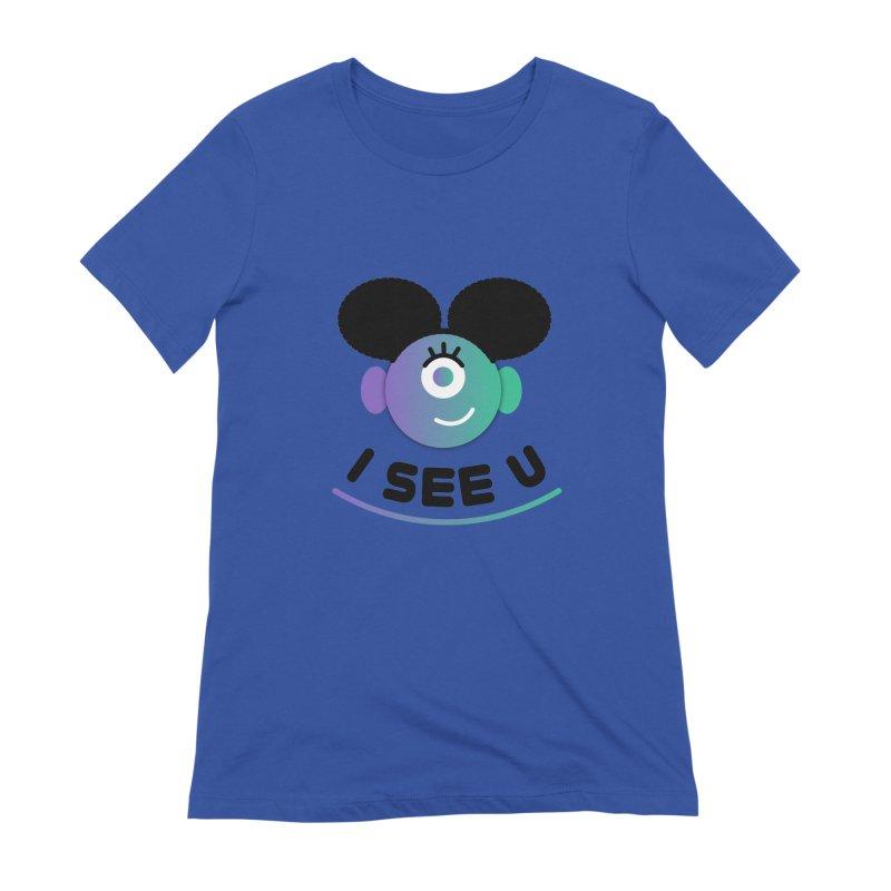 I See You! Women's Extra Soft T-Shirt by ashleysladeart's Artist Shop