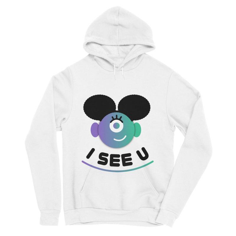 I See You! Men's Sponge Fleece Pullover Hoody by ashleysladeart's Artist Shop