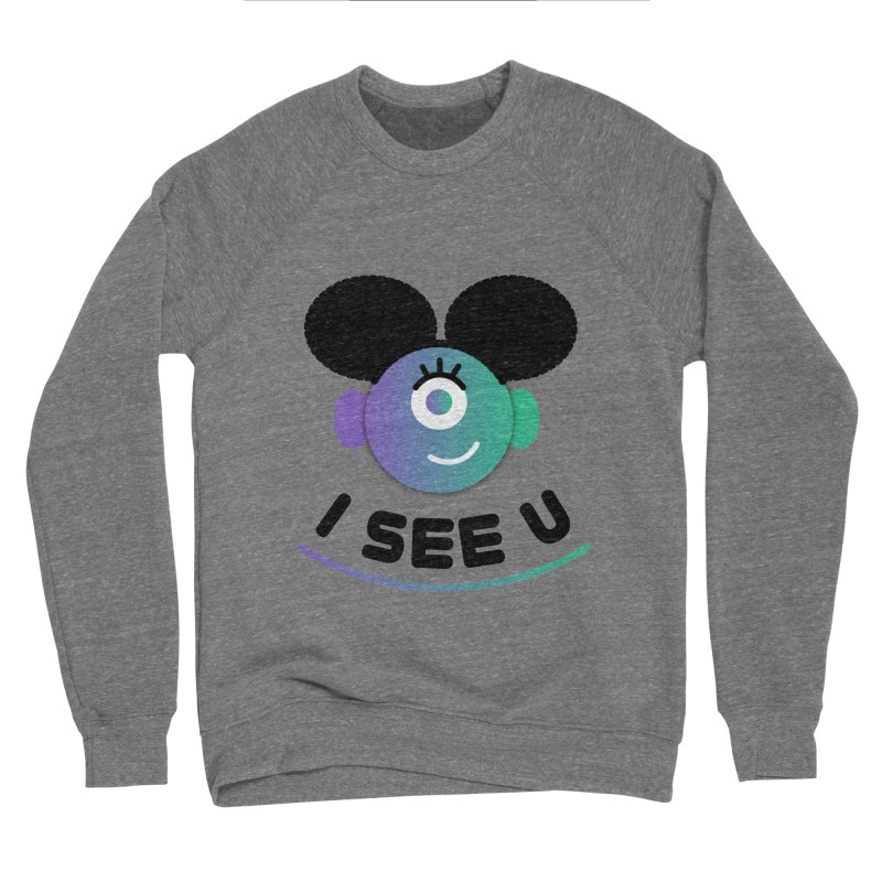 I See You! Men's Sponge Fleece Sweatshirt by ashleysladeart's Artist Shop