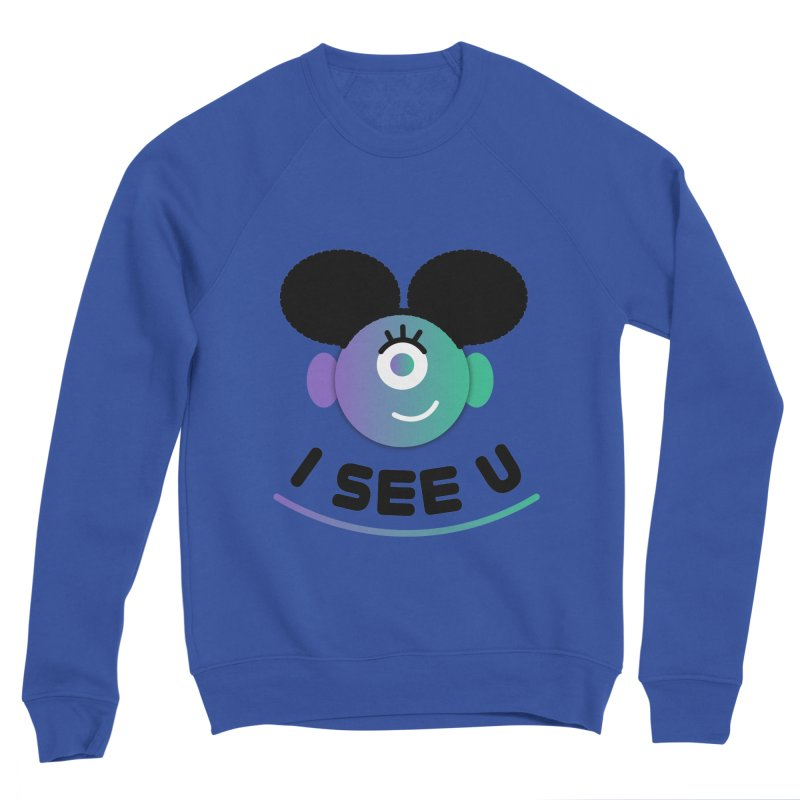 I See You! Women's Sponge Fleece Sweatshirt by ashleysladeart's Artist Shop