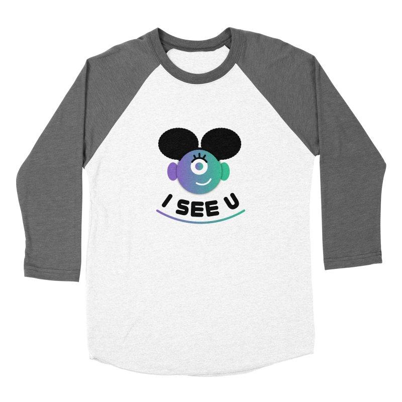 I See You! Women's Baseball Triblend Longsleeve T-Shirt by ashleysladeart's Artist Shop
