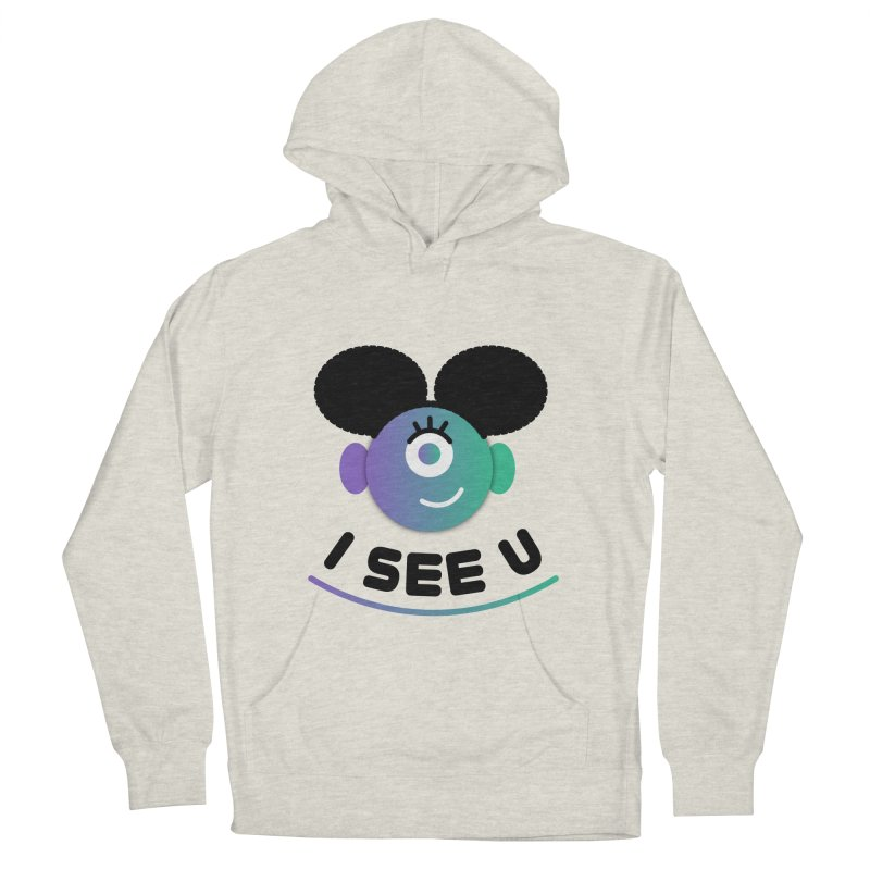 I See You! Men's French Terry Pullover Hoody by ashleysladeart's Artist Shop