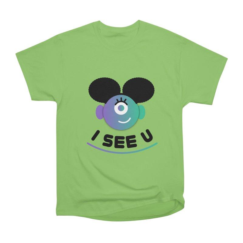 I See You! Women's Heavyweight Unisex T-Shirt by ashleysladeart's Artist Shop