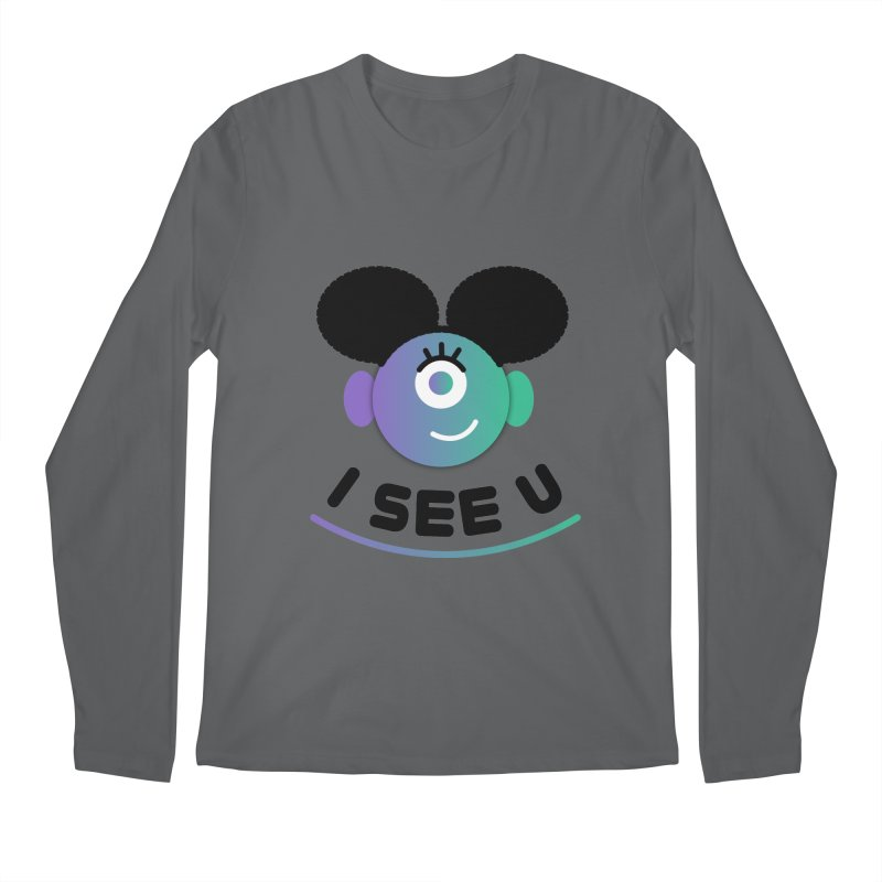 I See You! Men's Longsleeve T-Shirt by ashleysladeart's Artist Shop