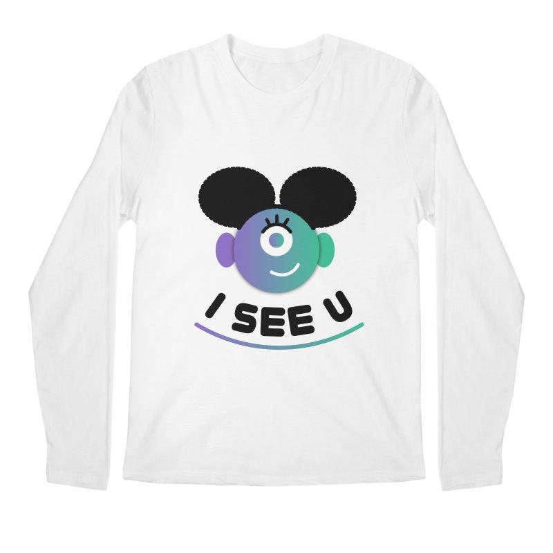 I See You! Men's Regular Longsleeve T-Shirt by ashleysladeart's Artist Shop