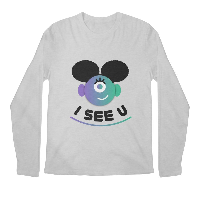 I See You! Men's Regular Longsleeve T-Shirt by ashleysladeart's Artist Shop