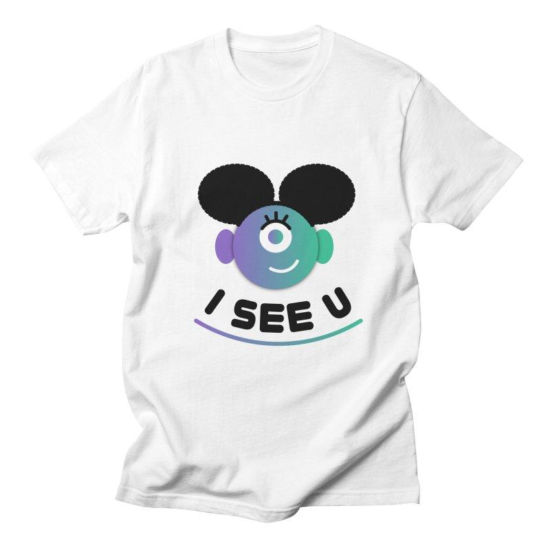 I See You! Men's Regular T-Shirt by ashleysladeart's Artist Shop