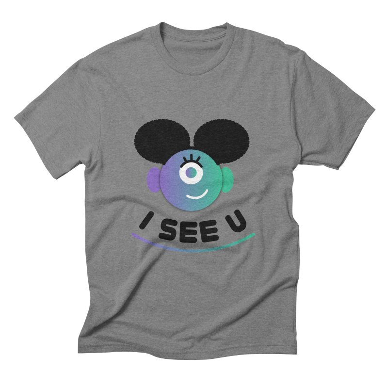 I See You! Men's Triblend T-Shirt by ashleysladeart's Artist Shop
