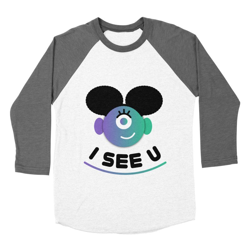 I See You! Women's Baseball Triblend Longsleeve T-Shirt by ashleysladeart's Artist Shop