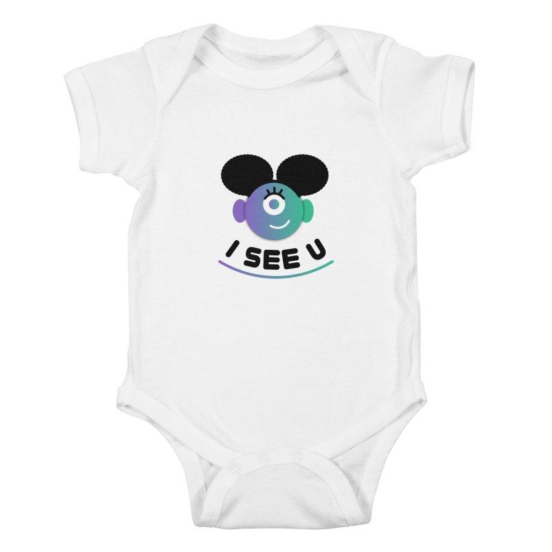 I See You! Kids Baby Bodysuit by ashleysladeart's Artist Shop
