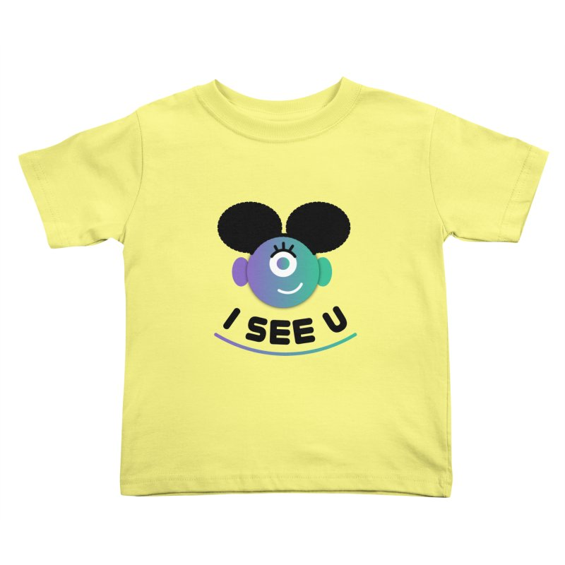 I See You! Kids Toddler T-Shirt by ashleysladeart's Artist Shop