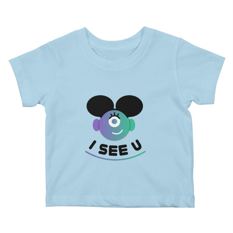 I See You! Kids Baby T-Shirt by ashleysladeart's Artist Shop