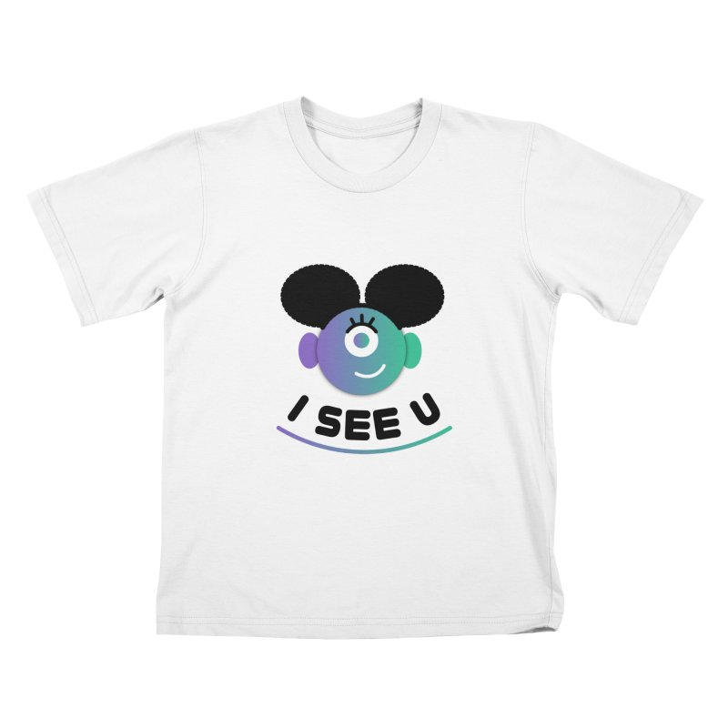 I See You! Kids T-Shirt by ashleysladeart's Artist Shop