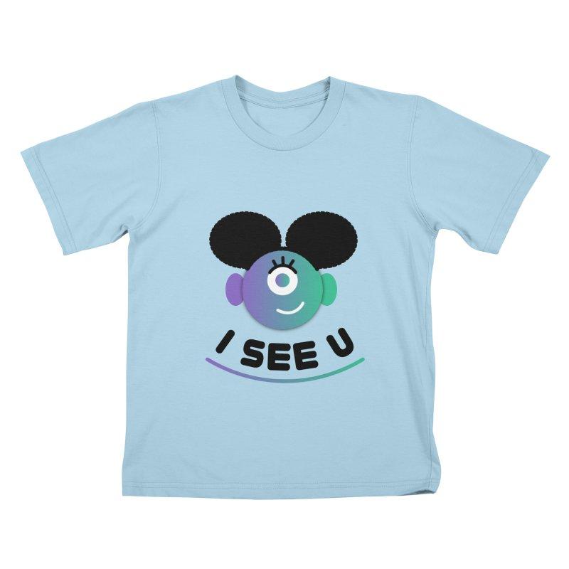 I See You! Kids T-Shirt by ashleysladeart's Artist Shop