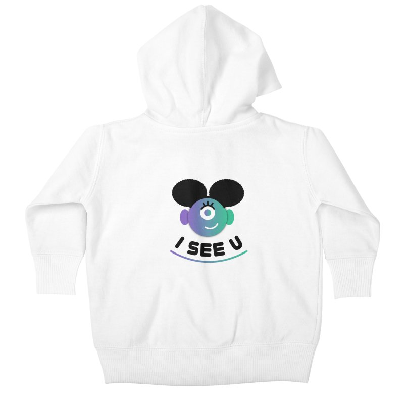 I See You! Kids Baby Zip-Up Hoody by ashleysladeart's Artist Shop