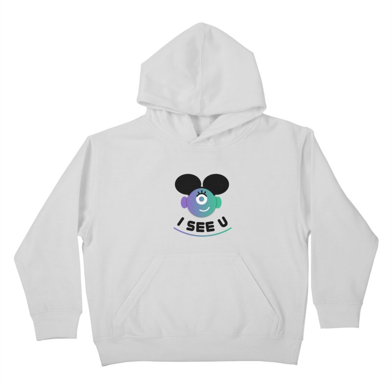 I See You! Kids Pullover Hoody by ashleysladeart's Artist Shop